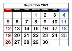 September 2021 Calendar PDF Printable Templates September Calendar Printable, 12 Month Calendar, Printable Blank Calendar, Monthly Calendar Template, 2019 Calendar, Calendar Wallpaper, Free Printables, Printable Templates, Words