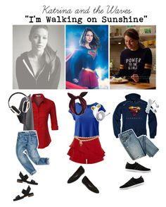 """""""Supergirl: Choice song"""" by krgood7 ❤ liked on Polyvore featuring River Island, Lands' End, Chanel, LE3NO, Lulu in the Sky, Stuart Weitzman, adidas, Maiden Lane, Pryma and whatilove"""