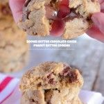 Brown Butter Chocolate Chunk Peanut Butter Cookies