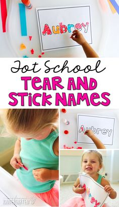 Tot School: All About Me {Plans and Printables} - Mrs. Plemons' Kindergarten