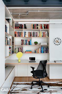 A triplex in Sao Paulo  Built-in office