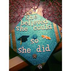 """She believed she could, so she did.""                  Source: Instagram user yemiyumyum"