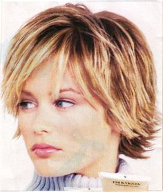 Haircuts For Medium Hair, Short Layered Haircuts, Cute Hairstyles For Short Hair, Medium Hair Styles, Short Hair Styles, Hairstyles Over 50, Funky Short Hair, Short Thin Hair, Short Hair With Layers