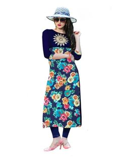 d7b339aa73e301 Shop for stylish Floor Length Gown Style Kurtis on Fashionous at  https   fashionous