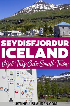 Seydisfjordur is a beautiful little town in East Iceland that you must visit. Here are the best things to do in Seydisfjordur, Iceland, for an amazing addition to your Iceland road trip. Seydisfjordur Iceland | Best small towns in Iceland | Iceland travel itinerary | Iceland bucket list | Places to go in Iceland | Places to visit in Iceland | Ring Road road trip | Iceland road trip itinerary | Iceland travel guide | East Iceland Town Iceland Places To Visit, Places To Go, Iceland Road Trip, Iceland Travel, Stuff To Do, Things To Do, Small Towns, Travel Guide, Bucket