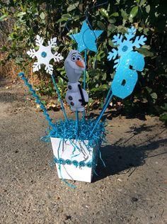 Olaf Disney Frozen Birthday CenterPiece by FantastikCreations