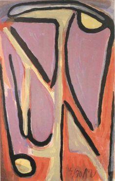 Bram van Velde, YR. no. 131 on ArtStack #bram-van-velde #art