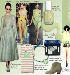 Pantone 2012 Spring Color Report