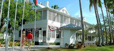 The Little White House, winter retreat of President Harry S. Truman (Key West, Florida)