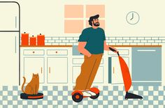 Cleaning Guide for The New York Times on Behance
