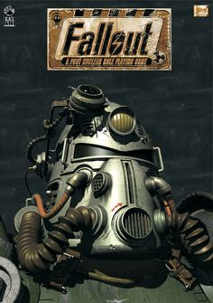 Fallout 3 4 Game Poster Home Furnishing decoration Kraft Game Poster Drawing core Wall stickers Fallout Funny, Fallout Rpg, Fallout Fan Art, Fallout Game, Fallout New Vegas, Military Art, Military History, Fallout Power Armor, Video Game Reviews