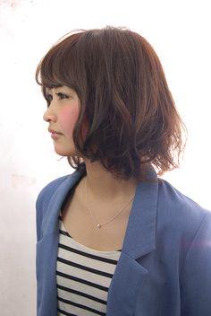 ルージーナチュラルボブ   ヘアカタログ   ヘアサロン(東京青山/大阪/神戸)K-two effect