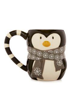 Primark - Beker pinguïn
