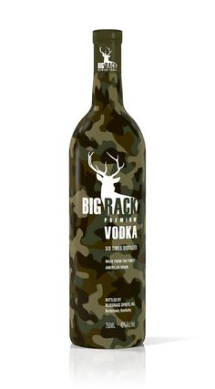 Big Rack vodka  #bigrack #bottle #vodka