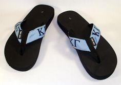 9666b4e8b22e Kappa Kappa Gamma Sorority Flip-Flops  18.99 Kappa Kappa Gamma