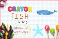 Download Crayon Fish @creativework247