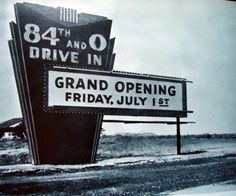 must have been in the past a ways.loved going to a drive-in The Effective Pictures We Offer You About Nebraska huskers A quality picture can tell you many things. You can find th Main Street America, Grand Island Nebraska, North Platte, Lincoln Nebraska, Drive In Theater, Nebraska Cornhuskers, Back In The Day, Historical Photos, Life Is Good