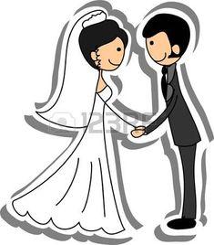Foto de la boda, la novia y el novio en el amor photo