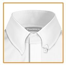 concealed button down collar