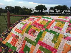 Jedi Craft Girl-Almost a Log Cabin Quilt Tutorial