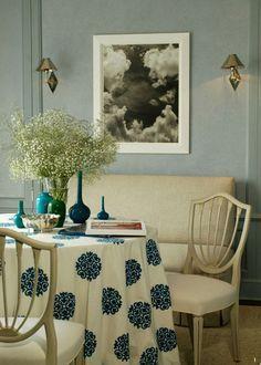 Breakfast room by Russell Bush