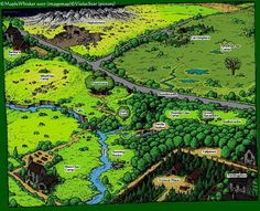 Just a picture of the original forest territories.