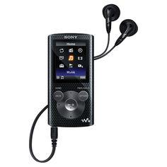 Sony Walkman 8GB MP3 Player (NWZE384B) - Black : Flash MP3 Players - Best Buy Canada