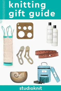My best knitting gift ideas will help you instantly find the perfect treasures for your favorite knitters. If you enjoy knitting yourself, this list is also a great way to share what YOU would like to receive from your loved ones #StudioKnit Knitting Supplies, Knitting Accessories, Easy Knitting, Craft Gifts, Gift Guide, Stitch Patterns, I Am Awesome, Best Gifts, Projects To Try