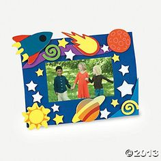Cosmic Adventure Photo Frame Magnet Craft Kit - $4.99, makes a dozen