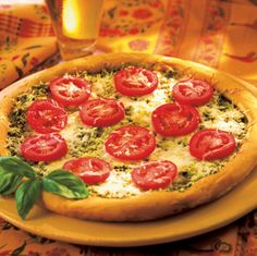 broil king Pesto Pizza recipe