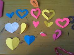 corazones para guirnaldas Two Hearts, Garlands