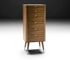 ak 2420 naver collection chest of drawers walnut