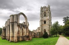 Fountains Abbey, Ripon. | 14 Beautiful Abandoned Places In Britain
