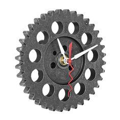 Auto Timing Gear Clock - Great gift idea for Dad Unique Clocks, Cool Clocks, Car Part Art, Gear Clock, Car Part Furniture, Furniture Design, Great Gifts For Dad, Diy Clock, Clock Ideas