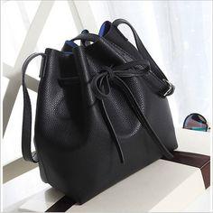Bucket Bag High Grade Women Messenger Bags Ladies Shoulder Crossbody Bag