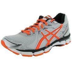 ASICS Mens GT 2000 Running Shoe,White/Safety Orange/Lightning,10 D US