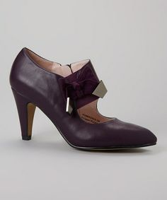 Loving this Violet Pembroke Pump on #zulily! #zulilyfinds Old fashioned with flair!