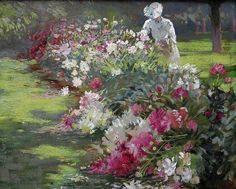 """Peonie"" (1907) Matilda Browne"