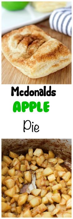 McDonalds Apple Pie Recipe: Flavorful apples inside a flaky crust, no frying required. Tastes just like Mcdonalds Apple Pie recipe.