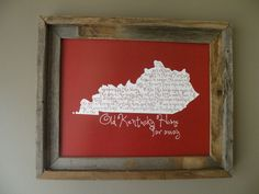 All things Kentucky --- My Old Kentucky Home..