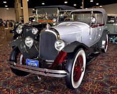 1925 French Avion Voisin once owned by Rudolph Valentino