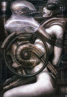 Ганс Руди Гигер: Biomechanoid No 308