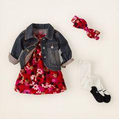 newborn - outfits - garden girl - denim daisy | Children's Clothing | Kids Clothes | The Children's Place
