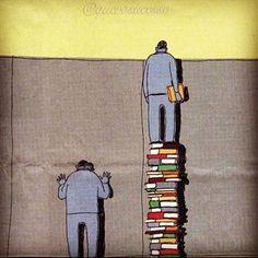 Os livros dão-lhe uma perspectiva melhor! Que livro você está lendo no momento?