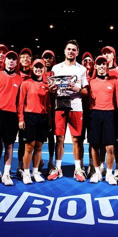 Stanislas Wawrinka - Winner of Australian Open 2014. #Wawrinka #AusOpen #Tennis