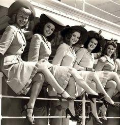 "vintage-retro: "" Beautiful Women of the 1940's. ♥ """