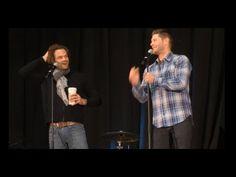 Jared Padalecki and Jensen Ackles GOLD NJCon Full Panel 2015 Supernatural - YouTube