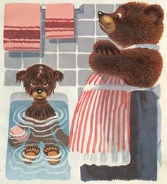 """By Scott Johnstone, from """"The Sly Little Bear and other stories"""" Golden Press 1973."""