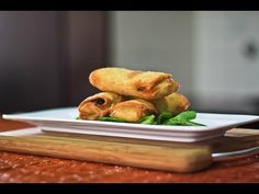 Video Recipe: Vegetable Spring Rolls with Homemade Spring Roll Wrapper