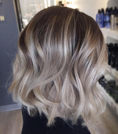 Who wants a age Cut Color Styl Blonde Balayage age balayage blonde Bob color cut Styl Ashy Blonde Hair, Balayage Brunette, Brunette Hair, Ash Blonde Bob, Blonde For Brunettes, Medium Ash Blonde Hair, Fall Blonde Hair Color, Beige Blonde, Brunette Color